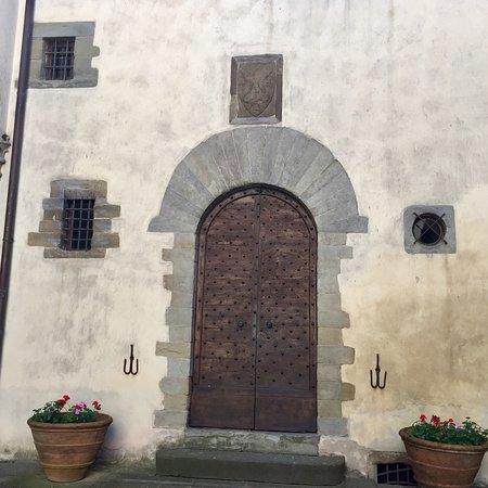 Tuscany Cycle: Tuscany Vespa Tour Pazzi Family Coat of Arms created by Donatello Castello del Trebbio Pontassie