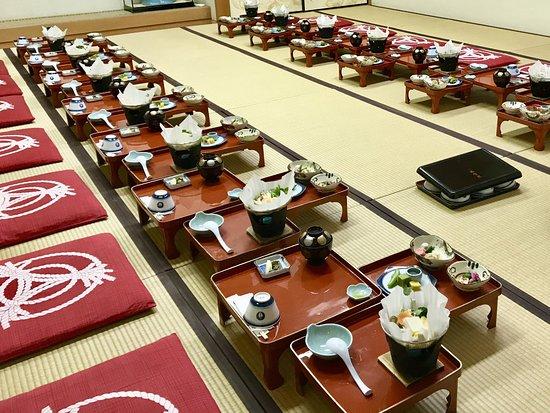 Fukuchi-in Temple: Abendessen für 12 Personen