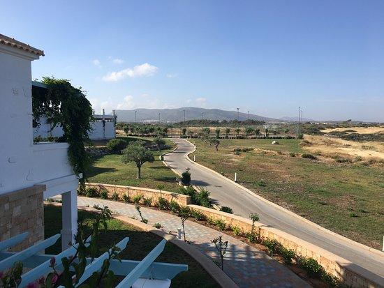 Atrium Prestige Thalasso Spa Resort and Villas: On our veranda looking north