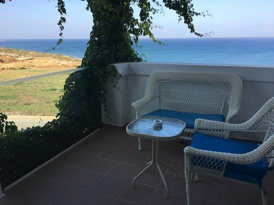 Atrium Prestige Thalasso Spa Resort and Villas: Our terrace