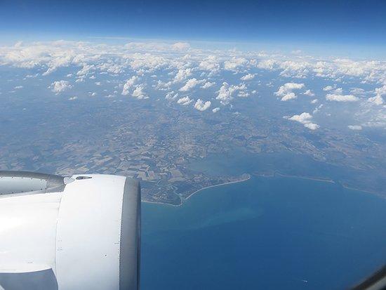 TAP Air Portugal: Algures a norte de Itália