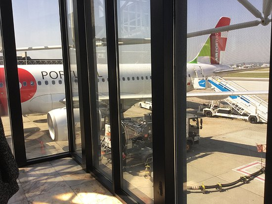 TAP Air Portugal: Embarque no aeroporto de Lisboa