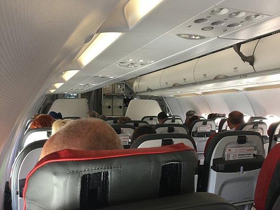 TAP Air Portugal: Interior da Cabine