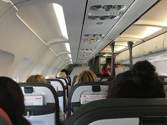 TAP Air Portugal: Detalhes da Cabine