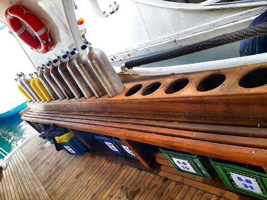 New Son Bijou Diving Center: Boat