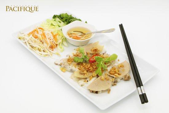 Pacifique Restaurant: Raviolis à la vapeur
