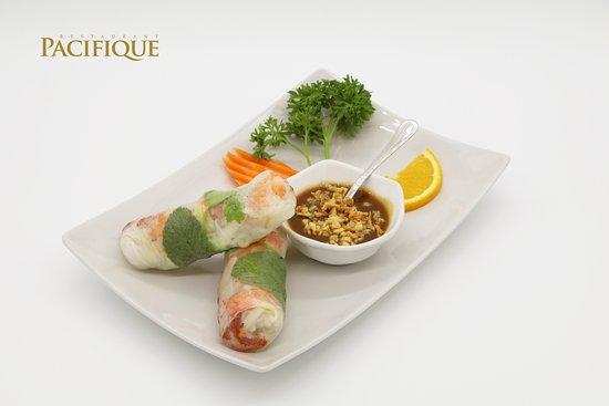 Pacifique Restaurant: Rouleaux de Printemps