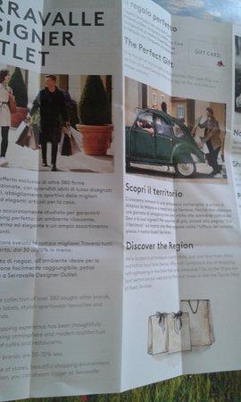 OPUSCOLO... - Bild von Serravalle Designer Outlet, Serravalle ...