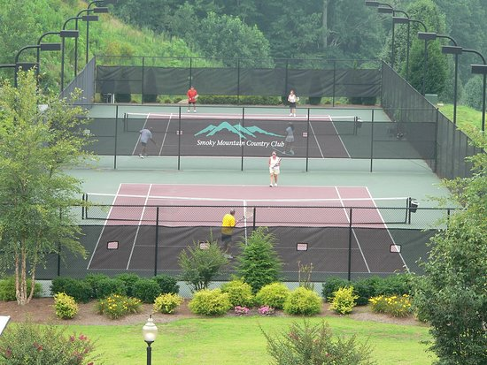 Whittier, Carolina del Norte: Tennis Courts