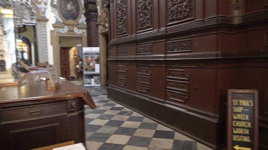 Paulus skeppsbrott-kyrkan: St.-Paul`s-Schiffswrack