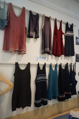 Museum of the Berkeley Springs: Historic Swim-Outfits from the turn of the 20's