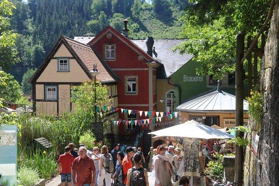 Muehle Schmilka : Schmilka - Mühle - Gesamtkunstwerk 25