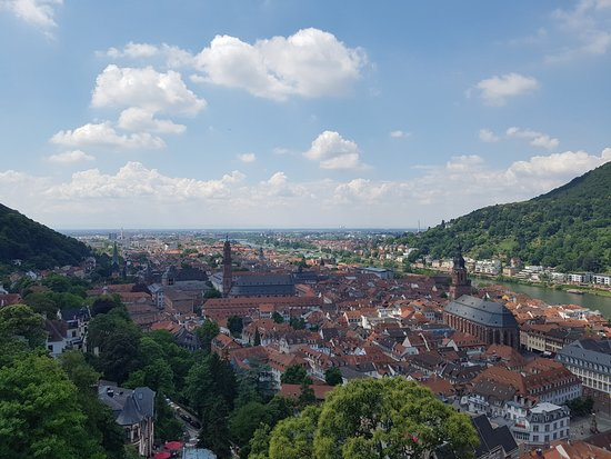 ปราสาทไฮเดลเบิร์ก: View