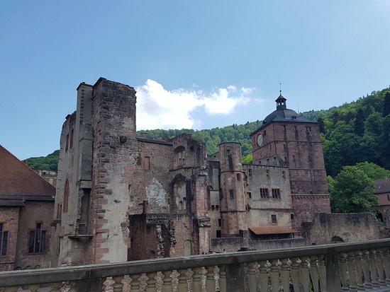 ปราสาทไฮเดลเบิร์ก: Ruins