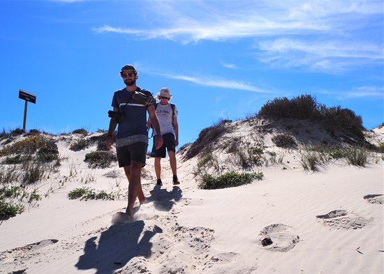 Lamberts Bay, South Africa: Through the dunes at Rocher Pan