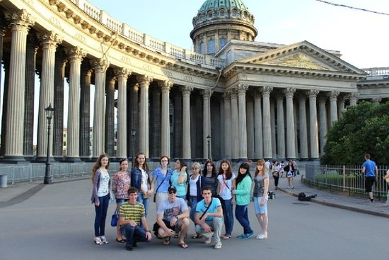 ‪Free Walking Tour in  Saint Petersburg‬