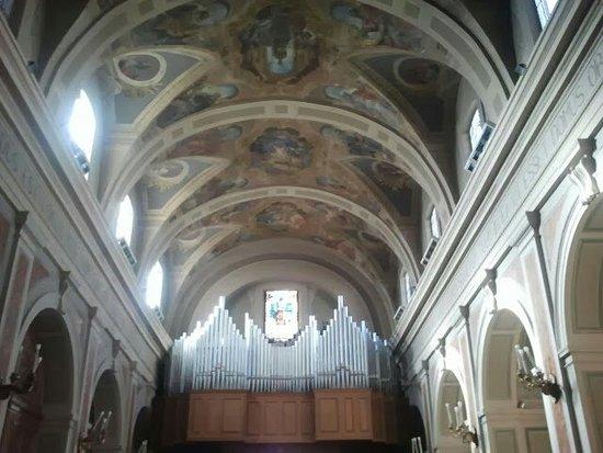 Cattedrale di San Gerardo: Interno cattedrale con organo