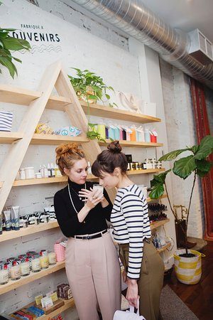 Espace Nomad Spa: Our lovely lifestyle shop
