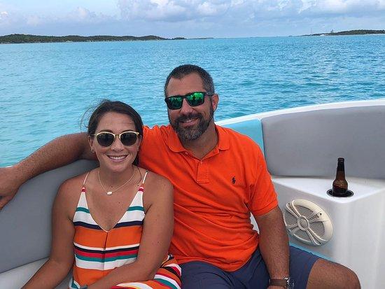 Aquaquest Escapes: just chilling...in Elizabeth Harbor, Exuma Bahamas
