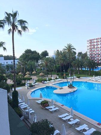 Apartamentos Siesta I: uitzicht vanaf balkon (2e verdieping)