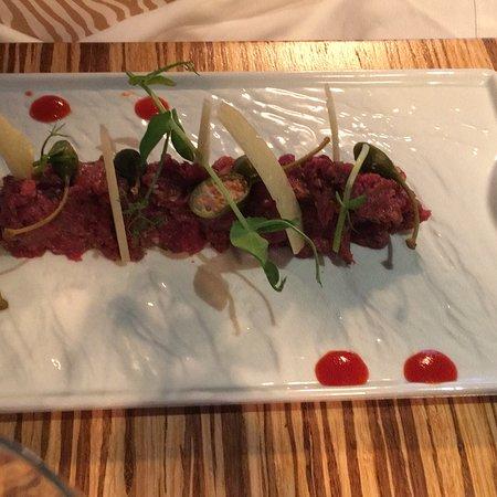 Lagarto Brasserie: Super lekker gegeten , heel gezellig en topbediening door Belgische waiter Jonathan . Een top aa