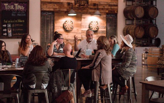 Grayton Beer Company: The Taproom is great for events and meet ups.