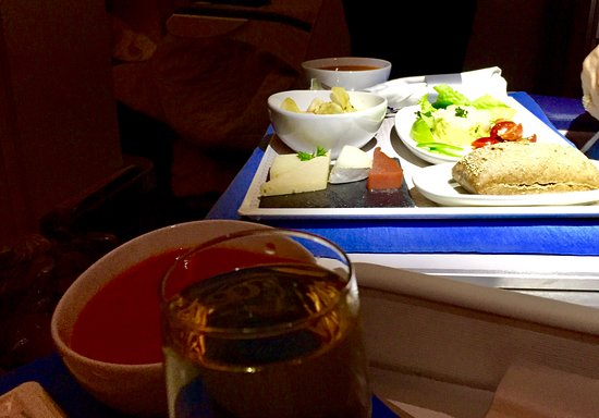 Air Europa: Pic of the food served...