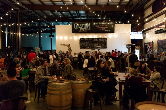 Grayton Beer Company: We love it when our Taproom is full!