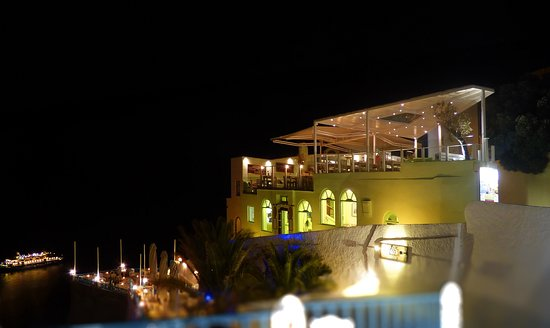 "1500 Restaurant: The night with best Food in Fira Santorini ""1500"""