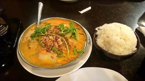 Hurricane, WV: Vegetable Curry with Rice