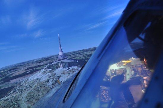 Real Simulator: Vyhlídkový let nad Ještědem