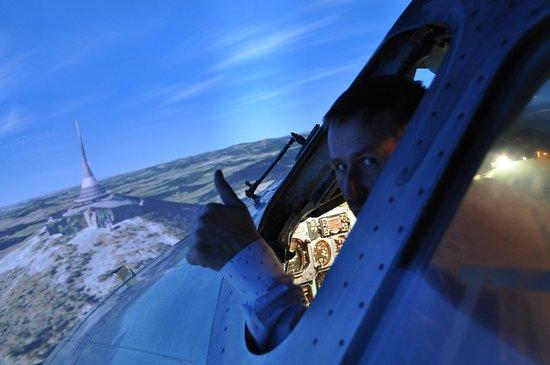 Real Simulator: V reálu se z okna dopravního letadla nepodíváte