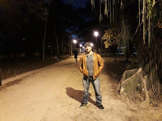 Parque Vicentina Aranha: Eu no parque.