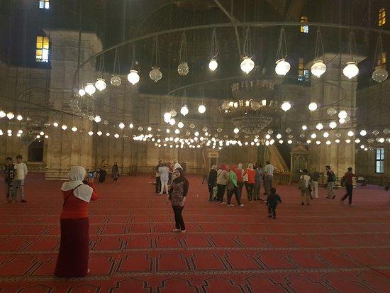 Mosque of Muhammad Ali: Vista interna