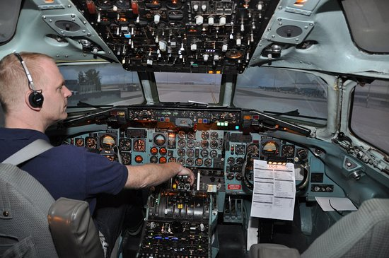 Real Simulator: Z kokpitu před vzletem