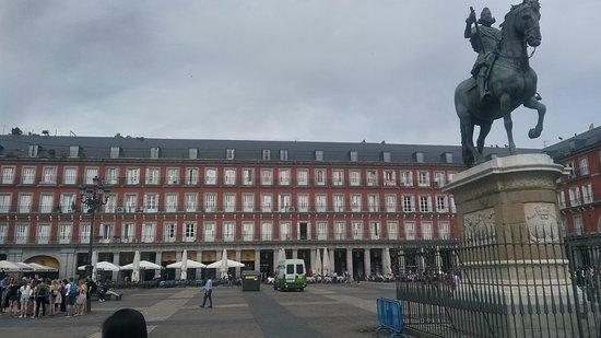 Plaza Mayor: Facciata