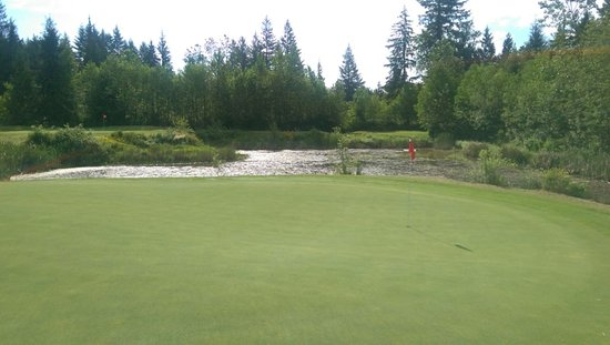 Mission, Canada: 6th hole