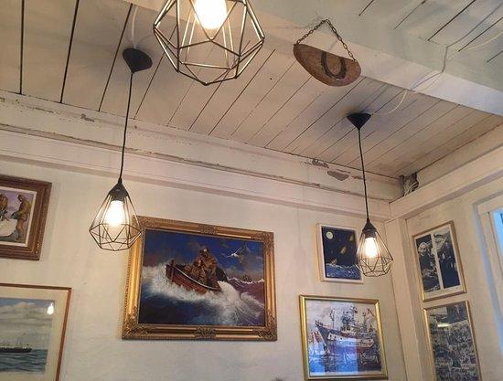 Saegreifinn - The Sea Baron: Restaurant decor