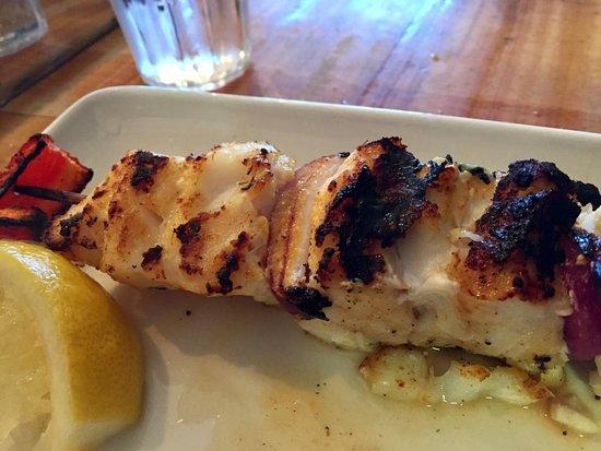 Saegreifinn - The Sea Baron: Cod Kebab
