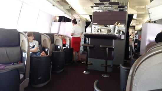 Virgin Atlantic Airways: UPPER CLASS