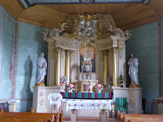 Maurzyce, Polen: Church Altar