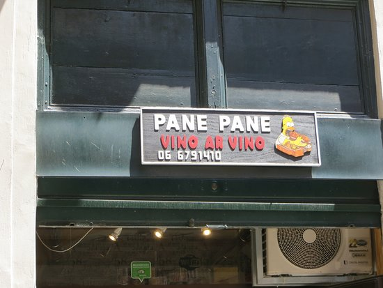 Pane pane vino Ar Vino: A great place for a good-value Snack!