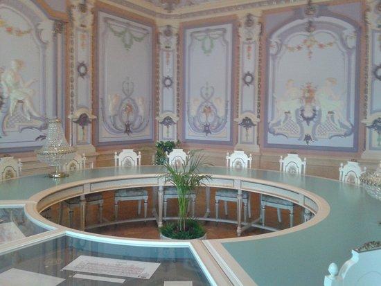 Rukavishnikovykh Usadba : Сейчас это зал заседаний