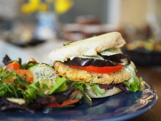 TEASE Cais do Sodré: Vegetarian Burger