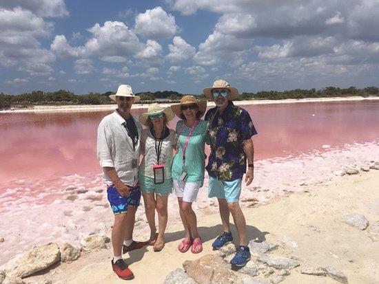 Sergio's Tours: Mayan pink lake