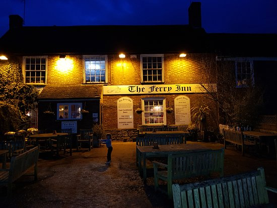 Stone in Oxney, UK: night view...