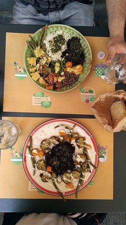 Soup in Town: buddha bowl e falafel