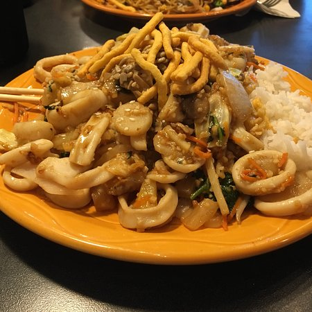 HuHot Mongolian Grill : Dinner at HuHot