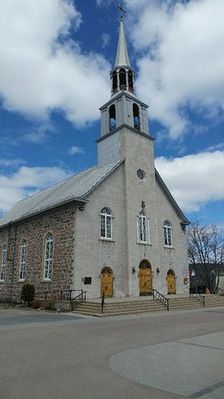 La Baie, Canada: St-Alphonse church