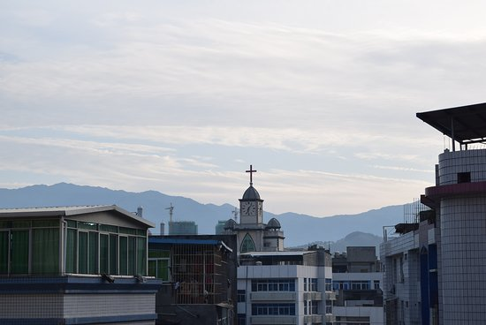 Minqing County, China: View from my room
